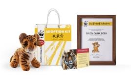 World Wildlife Fund Adoption Kit Design
