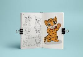 South China Tiger Sketches